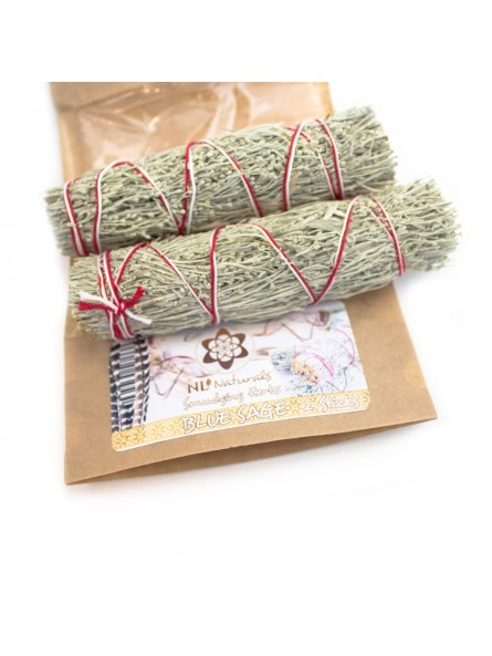 Blue Sage - 2 Smudge Sticks