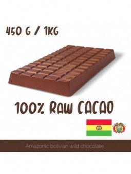 100% Raw Cacao Paste - Bolivia 450 / 1000g