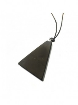 Shungite Necklace - Triangle