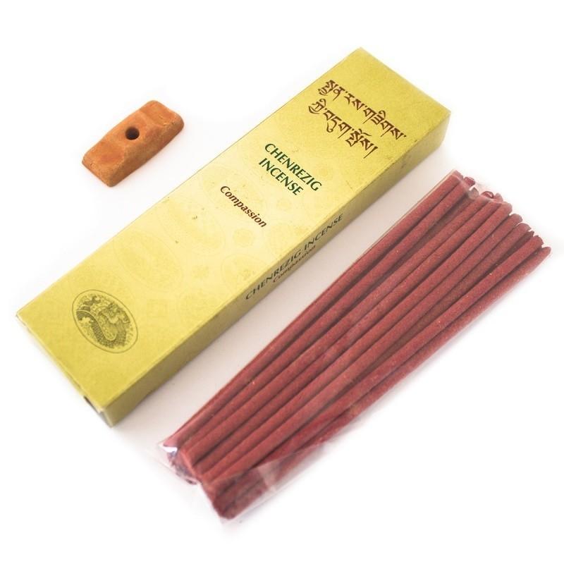 Tibetaanse Incense Chenrezig - Compassion